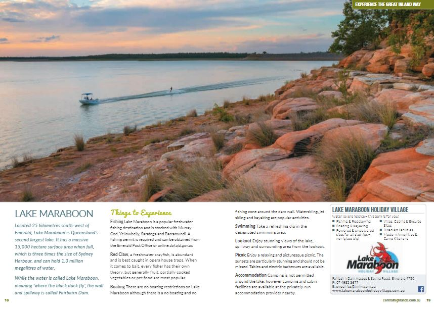Lifestyle Visitor Guide & Touring Map